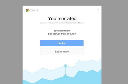 Google invites iOS users to experience data compression with Chrome
