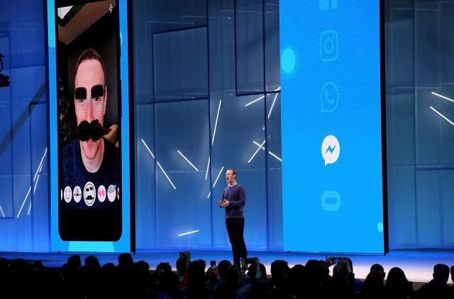 Facebook teases simplified Messenger redesign