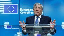Antonio Tajani défend l'unité de l'Espagne