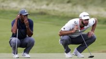Tiger Woods' second round at the U.S. Open hole by hole