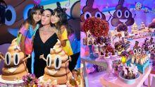 Gêmeas de Giovanna Antonelli ganham festa inspirada no emoji de cocô