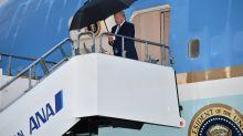 Trump llega a Osaka para participar en la cumbre del G20
