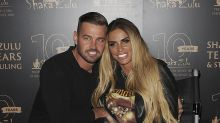 Katie Price announces engagement to Carl Woods