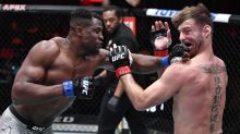 Francis Ngannou ends Stipe Miocic's title reign with scary second-round KO