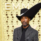 Pose Star Billy Porter Wins Emmys Red Carpet in Massive Hat and Crystal Covered Suit