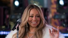 'Uh-oh, never do that': Mariah Carey leaps into action when son puts plastic bag on his head during performance
