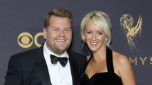 James Corden and Julia Carey welcome their third child