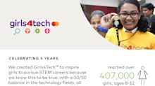 Five Years and Growing...Mastercard Commits to Reaching 1M Girls Globally by 2025 With Signature STEM Education Platform