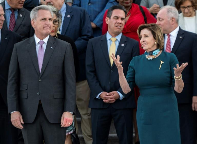 Anger as top US Republican jokes about hitting Pelosi