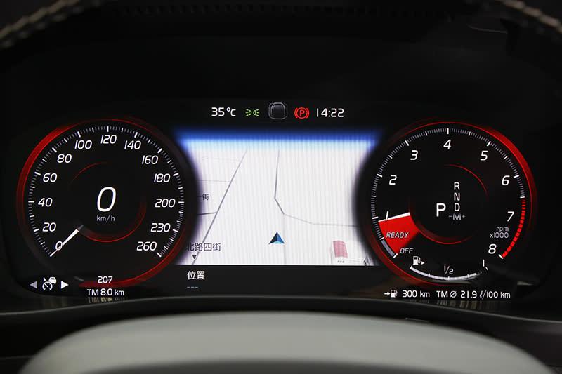 12.3吋數位儀錶已經幾乎是所有新車的標配了,但中間可顯示衛星導航確實更炫目不少。