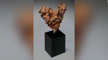 Original y romántico: así es el meteorito que subastan para San Valentín