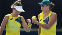 Ash Barty dominates in first Tokyo Olympics match