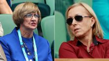 Martina Navratilova urges renaming of Margaret Court Arena following anti-gay marriage stance