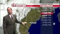 Roger's Thursday afternoon forecast