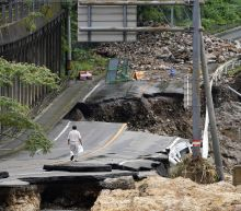Death toll from flooding in Japan reaches 55, dozen missing