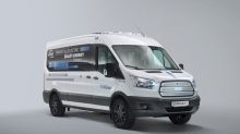 Ford Transit test van tries to solve an EV challenge: keeping people warm