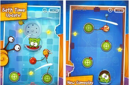 Twitter app, Cut the Rope, SpellTower, SpellCraft School of Magic all updated