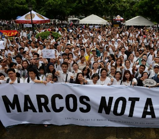 Marcos 'hero' burial plan sparks Philippines protests