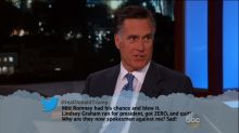 Mitt Romney Reads Mean Tweets From Donald Trump