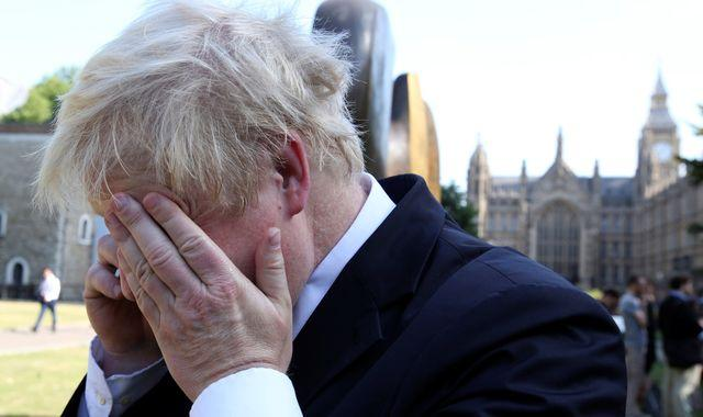 Boris Johnson's mobile phone number accessible online sparks security fears