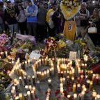 Kobe Bryant death: Vigils held as Los Angeles pays tribute to basketball hero
