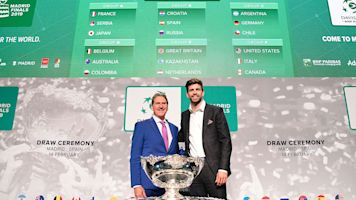 Spain gets tough draw in new Davis Cup Finals