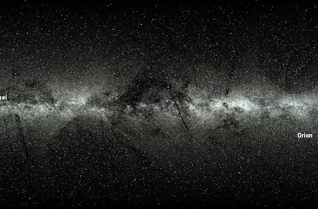 Watch the ESA trace 2 million stars' journey across the skies