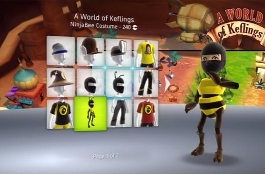 Army of Two, A World of Keflings Avatar gear now available