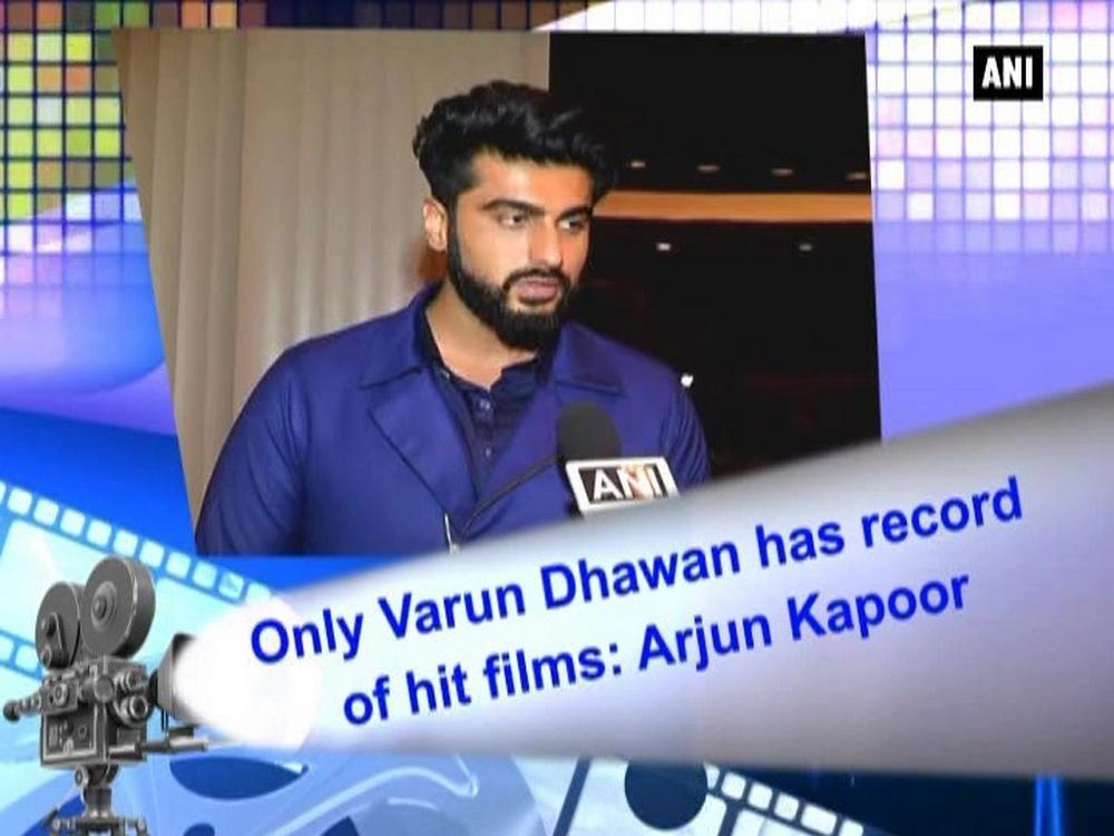 Only varun dhawan has record of hit films arjun kapoor for Arjun appadurai how to make a national cuisine