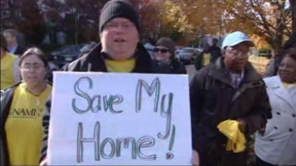 Advocates for mentaly ill rally for group home money