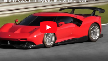 為賽道而生!一台限定之 Ferrari P80/C 賽道咆吼片段曝光