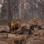 Search crews comb through ruins for victims of Northern California wildfire