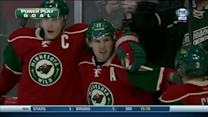 Zach Parise strikes on the power play
