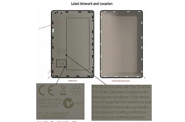 Kobo Arc tablet hits the FCC, just in time for stocking-stuffing