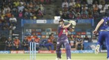 The advantage of batting second in the IPL
