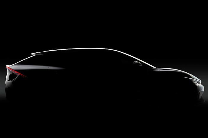 Kia teases the EV6, the first vehicle based on its new electric platform