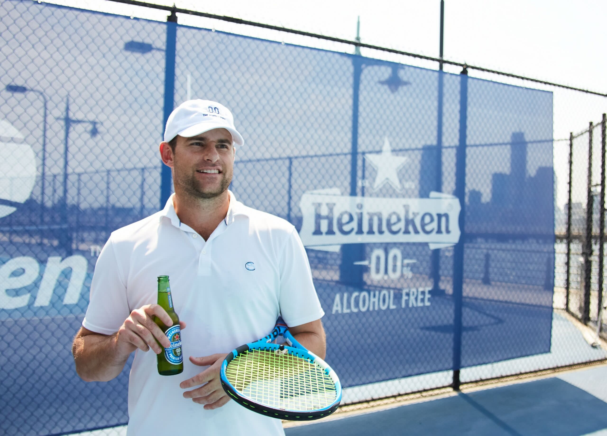 Heineken asks: 'Would you want to have a beer with Andy Roddick?'