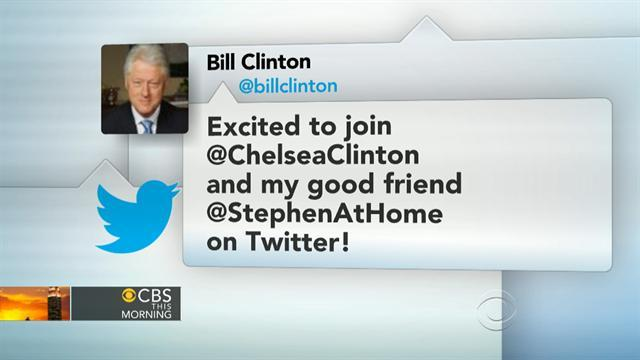 Headlines at 8:30: Fmr. Pres. Clinton joins Twitter