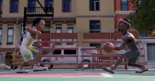 Basket - NBA - jeux vidéo - Russell Westbrook et James Harden dans la bande-annonce de NBA Playgrounds