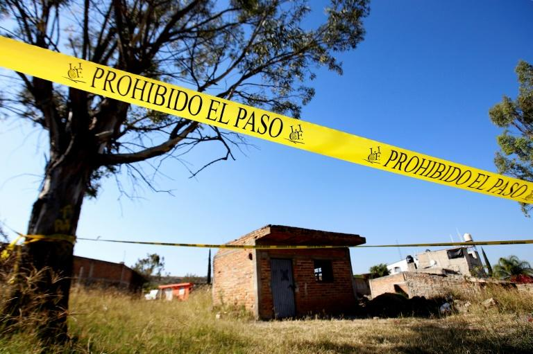 A mass grave has been discovered in Jalisco -- a Mexican state hard-hit by violence linked to organized crime (AFP Photo/Ulises Ruiz)