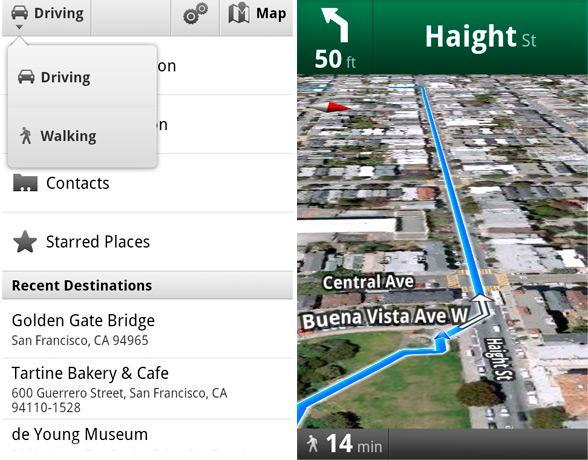 Google Walking Navigation beta and Street View now available for Android