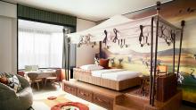 Estes quartos de hotel infantis inspirados em brinquedos são pura nostalgia!