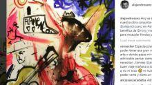 Alejandro Sanz y Domingo Zapata pintan juntos por una buena causa