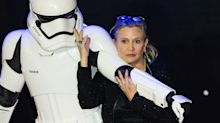 Lights Went Out At 'Star Wars' Panel And J.J. Abrams Joked It Was Carrie Fisher's Ghost