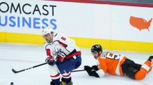 Ovechkin, Capitals beat Flyers 3-1 in fans' return in Philly