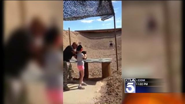 Shooting Range Instructor Fatally Shot by 9-Year-Old Girl Learning to Use Uzi in Arizona