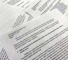 Senator: Comey's remarks on Clinton probe heavily edited