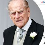 Debris from Prince Philip's crash bids for $117K on eBay