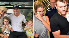 David Warner supports Candice after miscarriage heartache