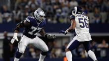 If Dallas Cowboys draft a tackle at No. 10, it won't be to replace Tyron Smith in 2021